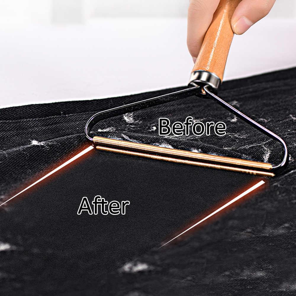 Draagbare Lint Remover Kleding Fuzz Stof Scheerapparaat Brush Tool Power-Gratis Pluis Verwijderen Roller Voor Trui Geweven Jas