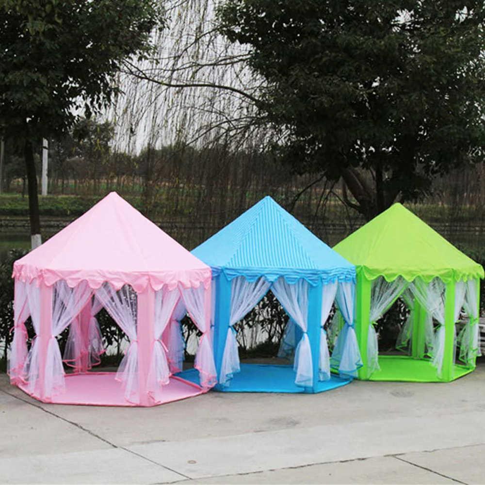 أطفال كينت الأطفال اللعب منزل طوي الأميرة القلعة فتاة اللعب منزل كبير الحجم المنغولية خيمة الأميرة القلعة مسرح
