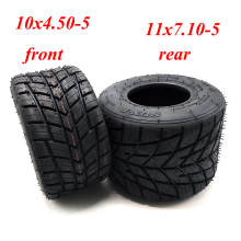Field Competitive Go Karting Tire 10x4.50-5 11x7.10-5 Inch Rain Tire Vacuum Tire Drift Go Kart Accessories.