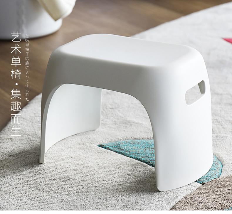 NEW Kit's Non-slip Stool Bathroom Stepping Pad High Foot Stool Plastic Base Low Stool Baby Wash Stool