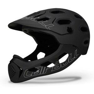Image 4 - Cairbull allcross mtb nova montanha cross country bicicleta rosto cheio capacete de segurança esportes radicais capacete casco ciclismo