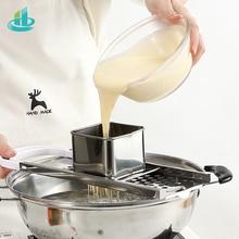 Паста машина руководство лапши Spaetzle чайник из нержавеющей стали лезвия клецки чайник паста инструменты для приготовления пищи Кухонные аксессуары