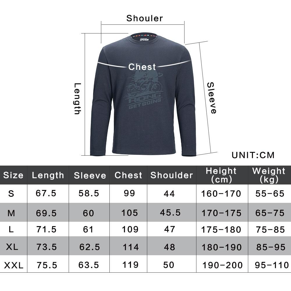 Men's Long Sleeve T-Shirt Pullover Cotton T-Shirt Casual Shirt