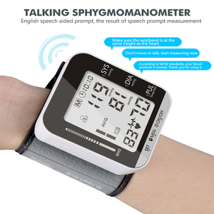 Image 3 - OLIECO Elektrische Handgelenk Blutdruck Monitor Stimme Rundfunk 2 Person Daten Speicher Große LCD Bildschirm Tonometer Blutdruckmessgerät