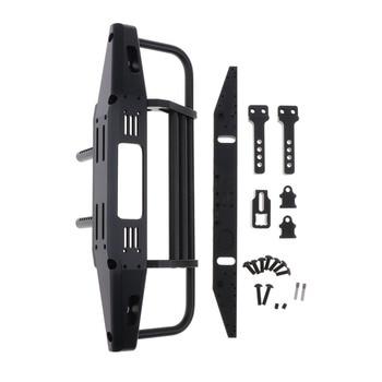MagiDeal RC Car Front & Rear Bumper Set for TRX4 90046 90047 SCX10 Metal Bumper 1:10 Rock Crawler Bumper Upgrade Parts