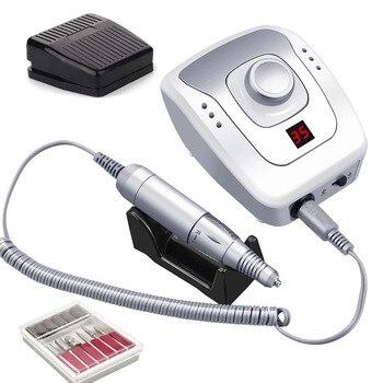 Taladro eléctrico de uñas 32W 35000RPM, máquina de manicura, fresadora, cortador para manicura, accesorios de pedicura, herramienta de Arte de uñas