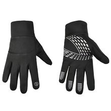 Winter Full Finger Touch Screen Running Cycling Gloves Multifunction Waterproof Windproof Anti Slip Thermal Bike