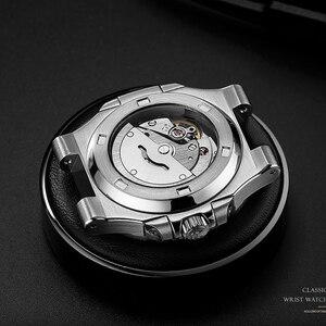Image 3 - DIDUN Hot top marque de luxe montre hommes 자동 모드 및 acier inoxydable mâle horlogemain 2019