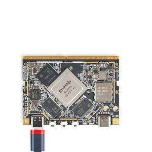 SOM-RK3399 AI kit de desarrollador de WiFi BT apoyo Gbps Ethernet y doble pantalla Android/Ubuntu/QT/ incorporado HDMI entrada/s
