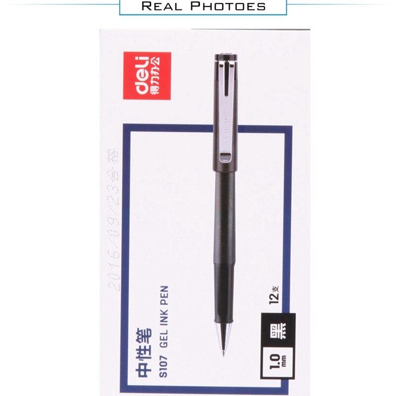 Gel Ink Pen redação Suprimentos de Papelaria Mesa