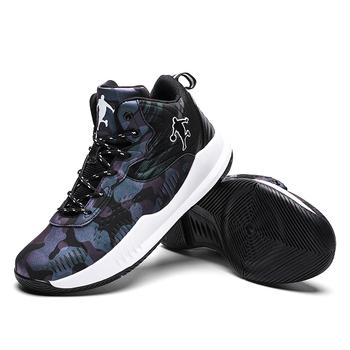 2020 nowe wysokie buty do koszykówki jordan buty sportowe męskie amortyzujące lekkie buty do koszykówki antypoślizgowe oddychające tanie i dobre opinie aybycy Średnie (b m) Wysoka RUBBER Płótno 2288 Formotion Lace-up Spring2019 Pasuje prawda na wymiar weź swój normalny rozmiar