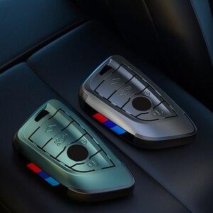 Image 3 - Placcatura Chiave Remote Controller Supporto del Sacchetto fit bmw lama KeyChain di chiave Dellautomobile di Caso Della Copertura per BMW X1 X5 X6 F15 f16 F48 BMW 1 / 2 Serie