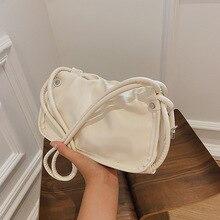 European and American High-quality Women's Handbags 2021 New Women's Bags Korean Style Folds Fashion One-shoulder Underarm Bag