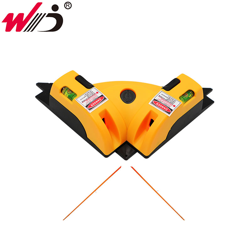 Right Angle <font><b>90</b></font> Degree Square Laser Level High Quality Level Tool Laser Measurement Tool Level Laser image
