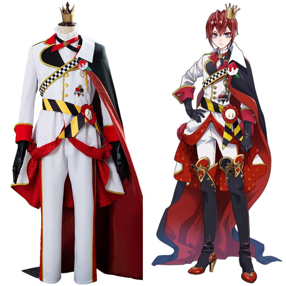 Twisted Wonderland Riddle Rosehearts Cosplay Costume Uniform Suit Halloween Carnival Costume Men Women