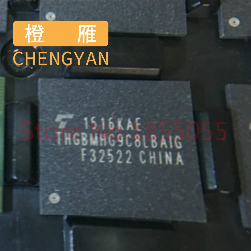 CHENGYAN THGBMHG9C8LBAIG BGA153 EMM 5.1 64GB orijinal yeni
