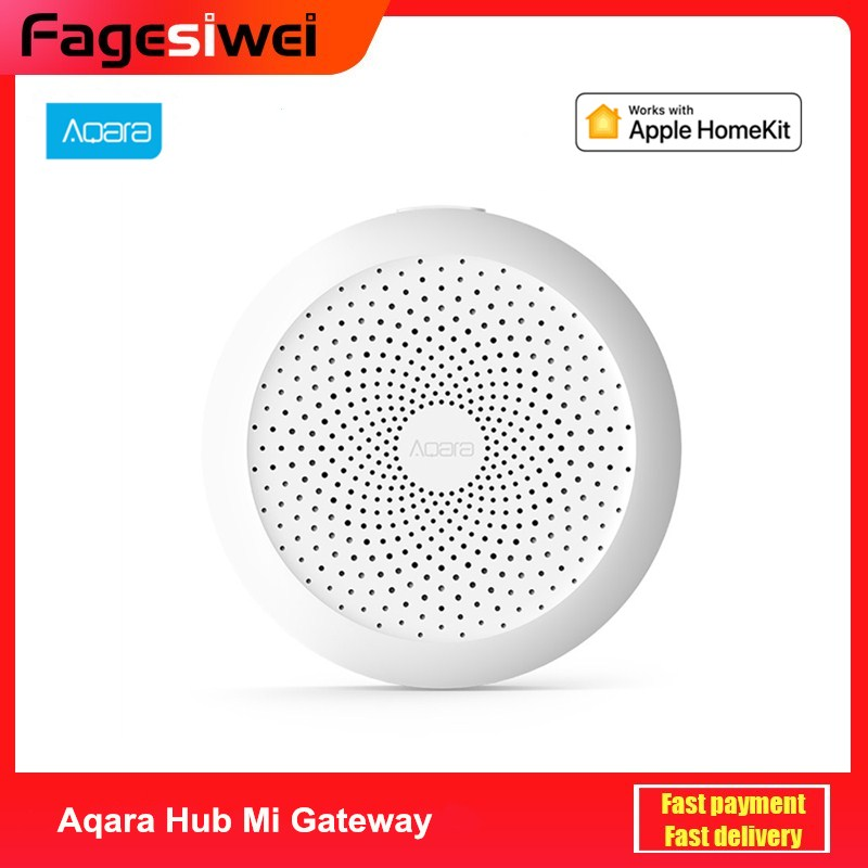 Aqara Hub Mi Gateway With RGB Led Night Light Smart Work With Apple Homekit Mi Home App Newest Edition