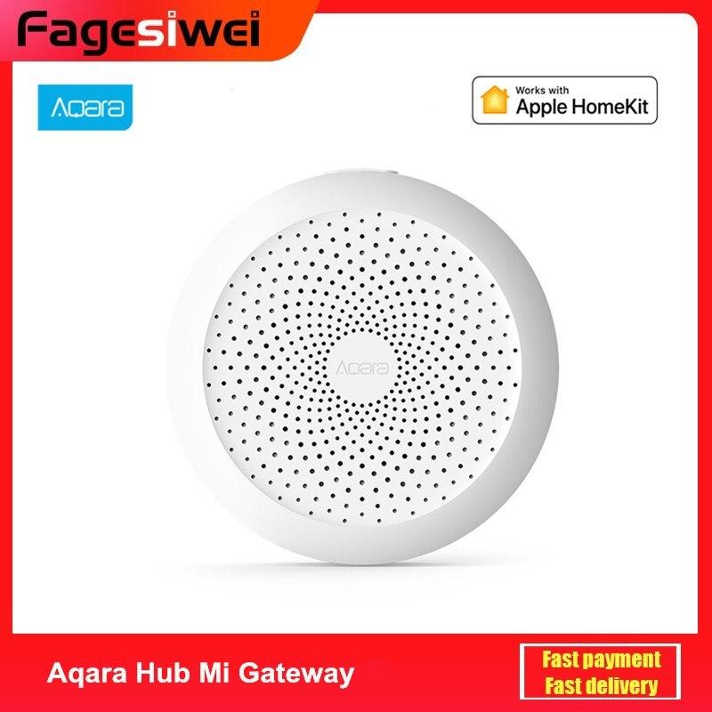 Aqara Hub Mi Gateway With RGB Led Night Light Smart Work With Apple Homekit Mi Home App Newest Edition