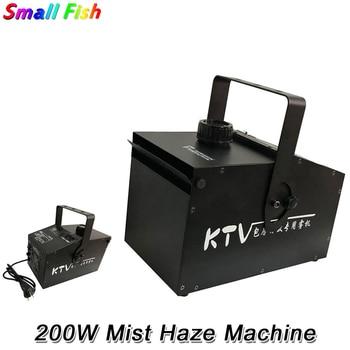 200W Fog Machine DMX Smoke Professional Mist Hazer For Wedding Home Party Stage Dj Lighting Shows Equipments