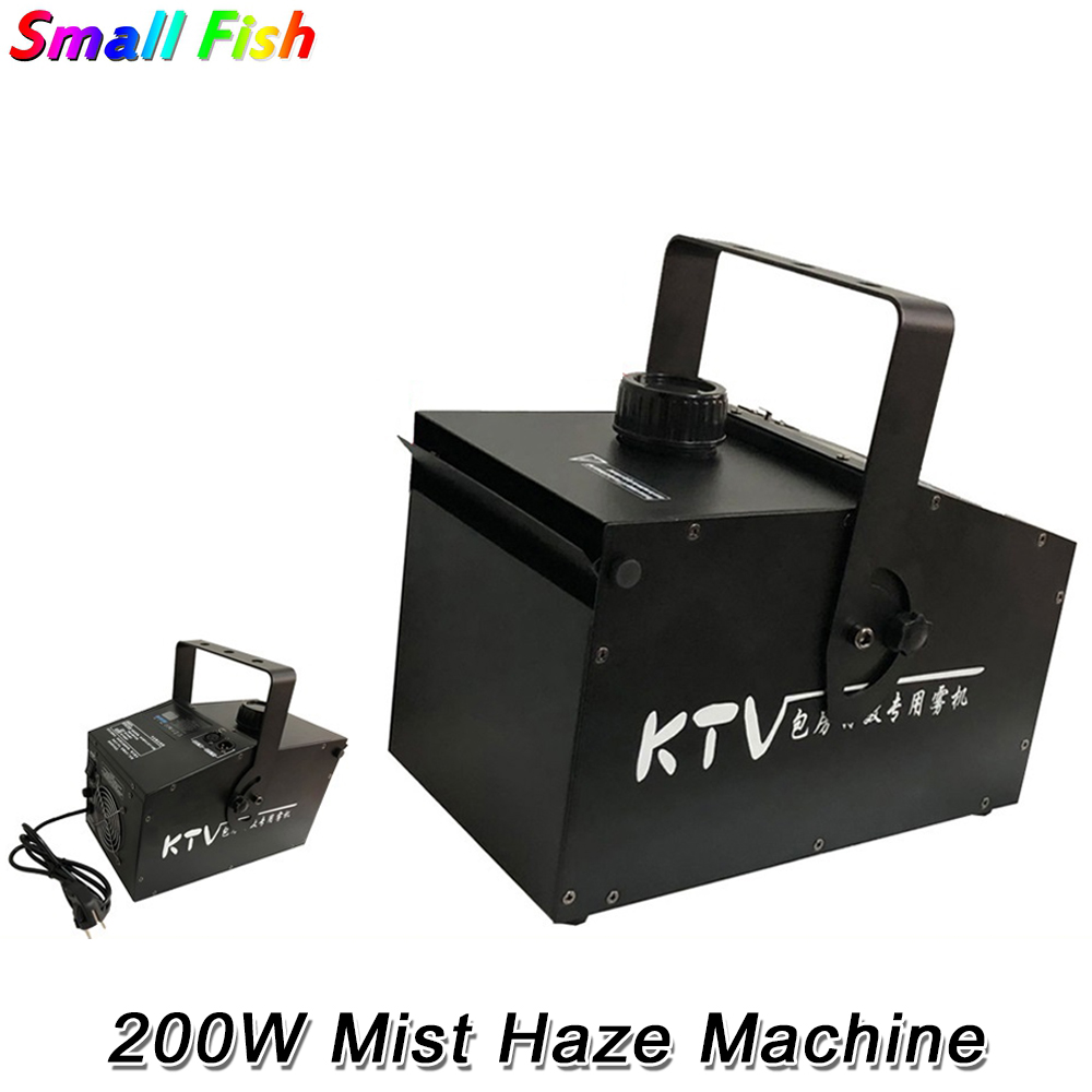 200W Fog Machine DMX Smoke Machine Professional 200W Mist <font><b>Hazer</b></font> For Wedding Home Party <font><b>Stage</b></font> Dj Lighting Shows Equipments image
