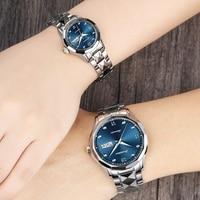 Fashion Couple watch Mechanical Brand Luxury Waterproof Wristwatch For Man & Woman Automatic Date Lover Watch Reloj Hombre Mujer