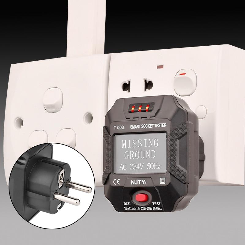 Купить линейный тестер er rcd испытательные устройства для электрических