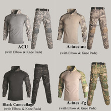 Men Tactical Ghillie Suits Military Uniform Mixed Color Shooting Clothing Hunting Camouflage Clothes Multicam Special Forces Set lemochic forest ghillie sniper camouflage clothes tactical military suit combat hunting uniform multicam special forces clothing