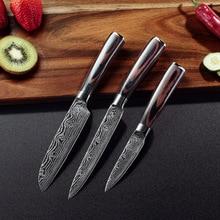 Damascus Stainless Steel Kitchen Knife Utility Chef Knife Japanese Kitchen Santoku Knives Sharp Cleaver Slicing Kitchen Tools брюки fleur de vie 24 2181 рост 146 бежевые