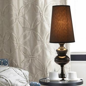 European Living Room Restaurant Hotel Bedroom Bedside Cupboard Study Platform Lampblack Silver Golden Guardian Desk Lamp