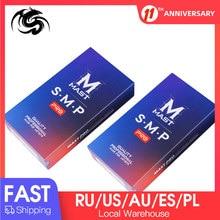 Cartouche permanente SMP et PMU 1RL 3RL d'aiguilles de maquillage de tatouage de PRO de mât fournitures rondes de Machine de tatouage de revêtement 0.18mm/0.20mm/0.25mm