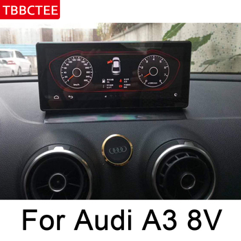 For Audi A3 8V 2014~2017 MMI HD Screen Stereo Android Car GPS Navi Map Original Style Multimedia Player Auto Radio WIFI HD image