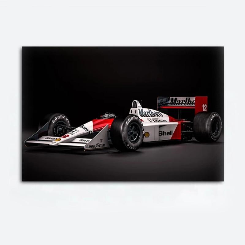 Mclaren Honda формула One F1 плакаты гоночный автомобиль настенная Картина на холсте Спортивная картина для гостиной домашний декор
