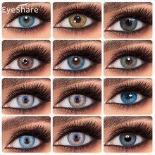 EYESHARE 2 pièces/paire 2020 Nouvelle Couleur Lentilles de Contact Couleur Lentilles de Contact Couleur Lentilles Oculaires