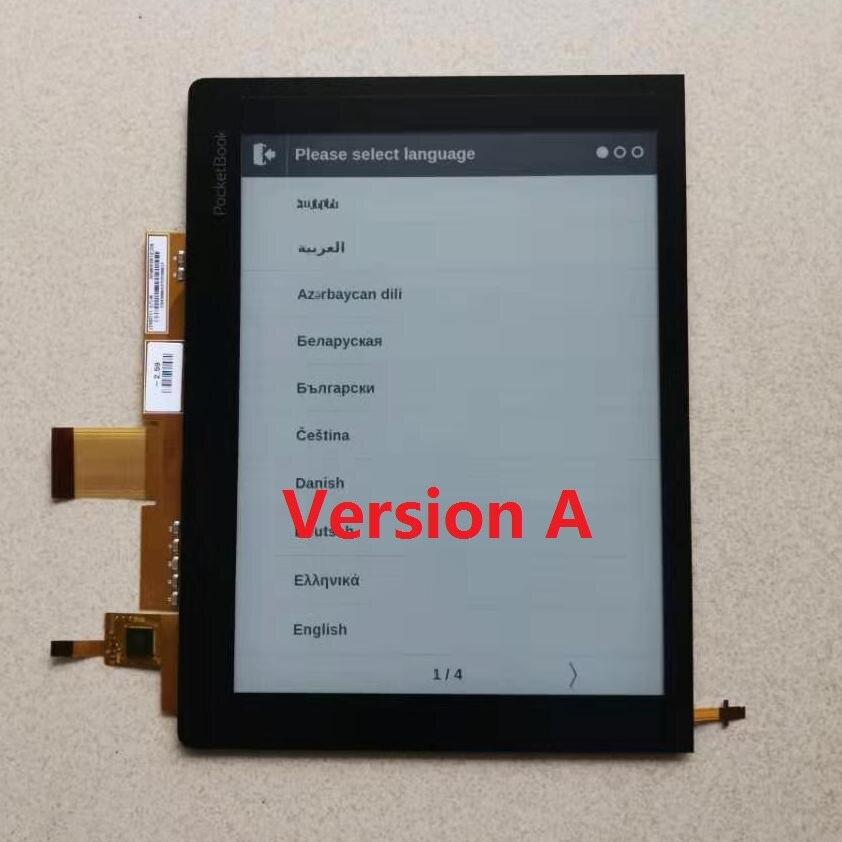 8 pouces écran tactile et affichage avec rétro-éclairage HD Eink écran pour PocketBook 840-2 InkPad 2 lcd ebook pour PocketBook 840 InkPad