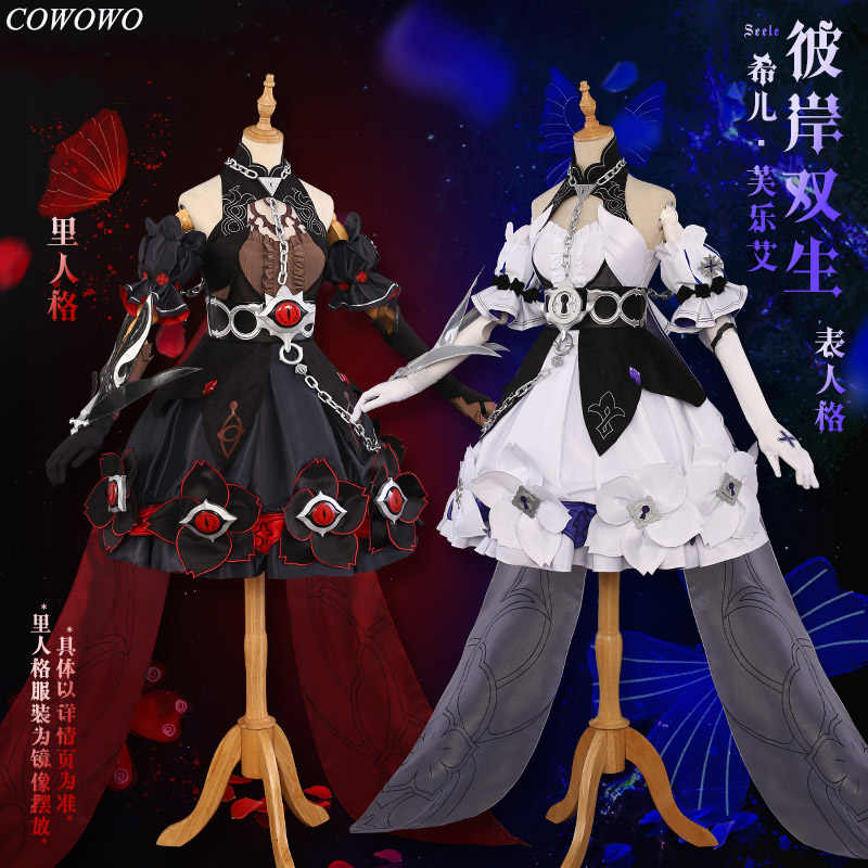 [Pre-sale] Anime! Honkai Impact 3 Seele Vollerei Twins New Skin Version 3.5 Battle Suits Lolita Dress Uniform Cosplay Costume