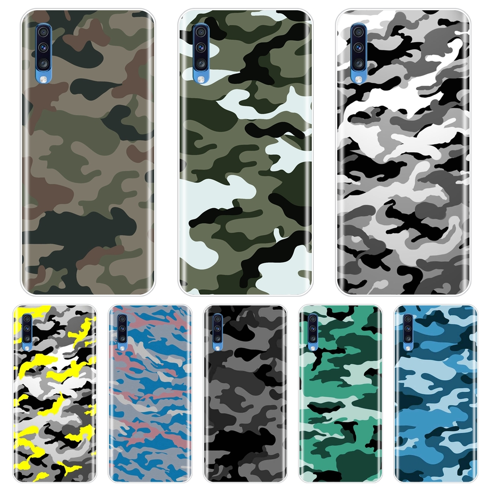 Back Cover For <font><b>Samsung</b></font> <font><b>Galaxy</b></font> A10 A20 A30 <font><b>A40</b></font> Soft Silicone Camouflage Military <font><b>Phone</b></font> <font><b>Case</b></font> For <font><b>Samsung</b></font> <font><b>Galaxy</b></font> A50 A60 A70 A80 image