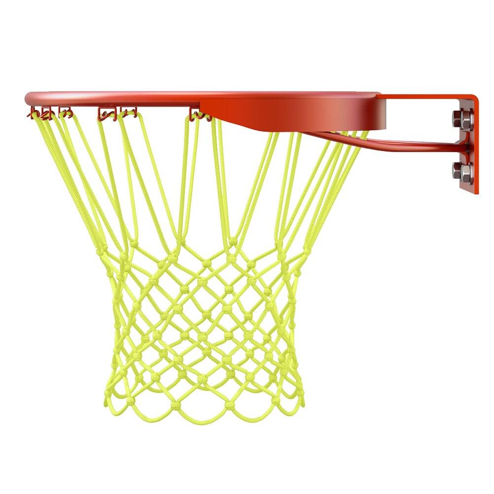 12 петель баскетбольный обруч корзина обод сетка задняя доска шар Pum светящаяся баскетбольная сетка солнцезащитный нейлон