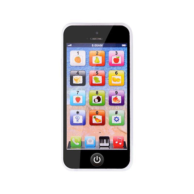 Enfants Smart écran tactile téléphone Mobile jouet multi-fonction Simulation enfants Puzzle éducation précoce téléphone jouet enfants jouer maison jouet