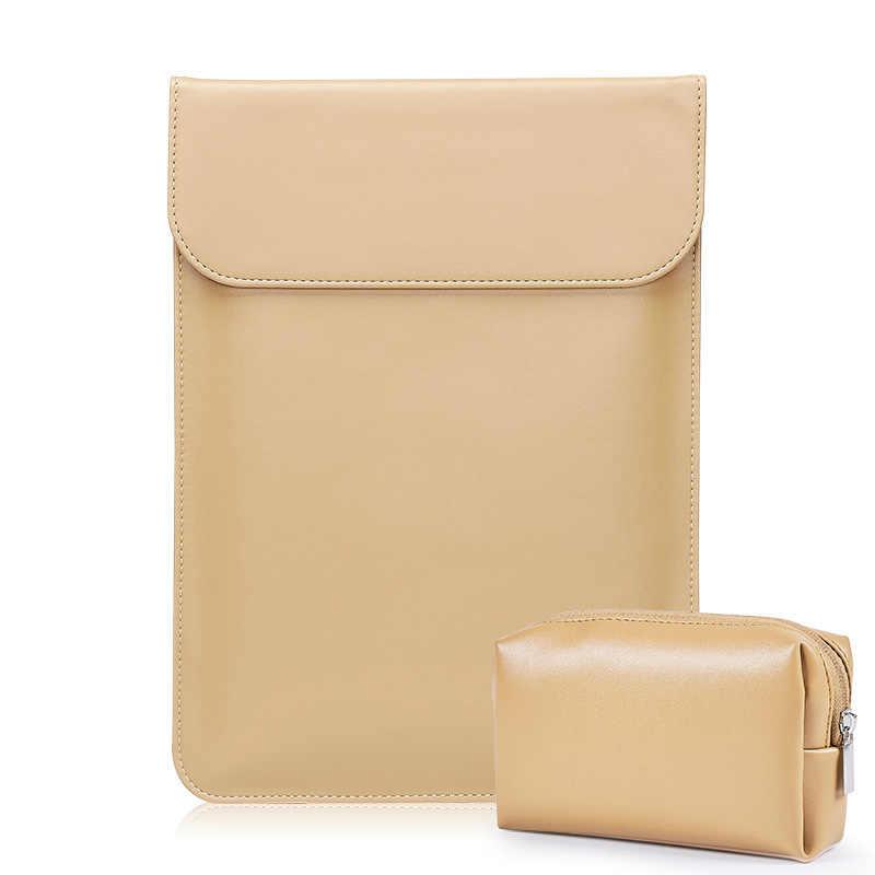 Kulit Lengan Laptop Casing Case untuk MACBOOK AIR 13 A1466 Pro Retina 11 12 13 15 Notebook Penutup Untuk Laptop macbook A1932 Matebook