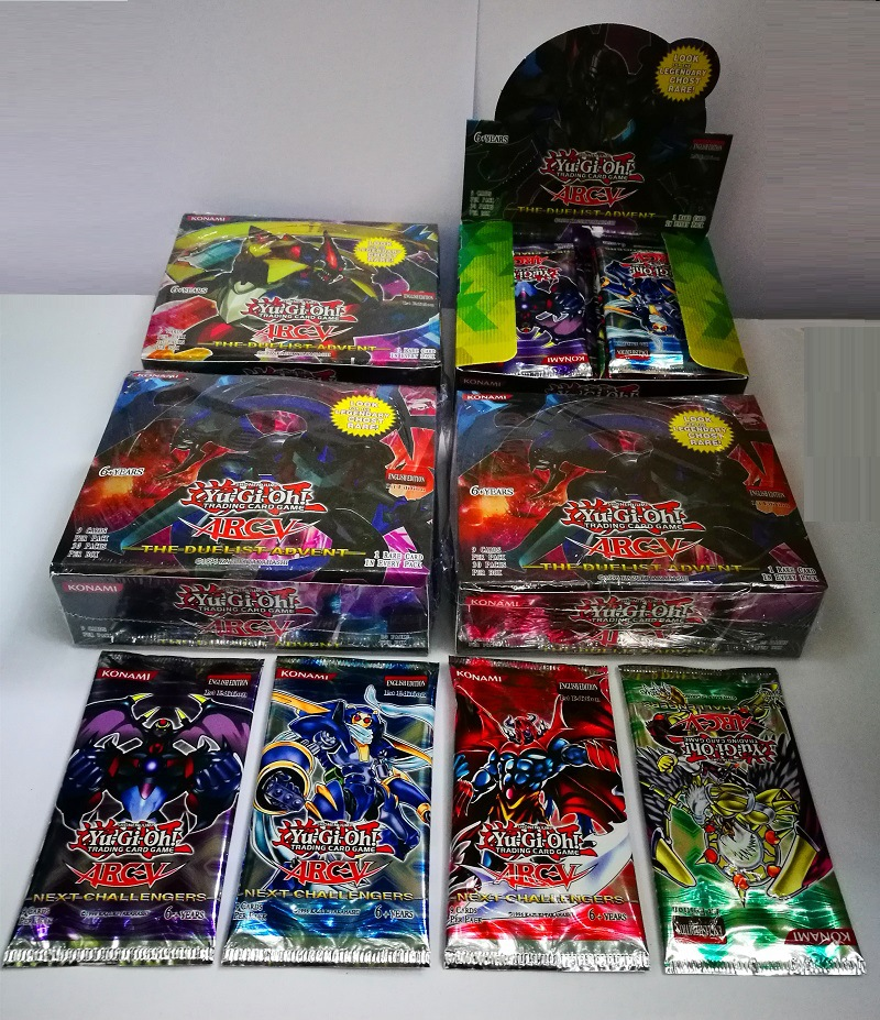 Yugioh legend deck 216 pcs set with box yu gi oh anime Game Collection Cards kids boys toys for children figure cartas image