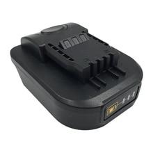 Convertidor de adaptador de herramienta de batería MOOL para batería de litio Makita 18V a WORX 20V 4 pines