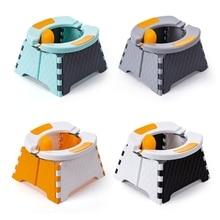 Baby Potty Training Seat Kids Toddler Outdoor Portable Folding Toilet Urinal Pot H055