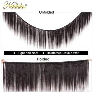 Image 2 - Nadulaヘア編む 3 本毛バンドルマシンダブル横糸 100% 人間のremy毛束