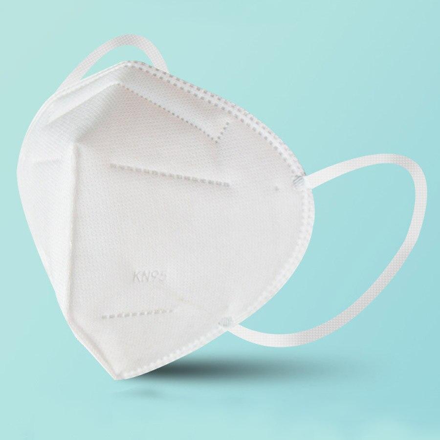 1000Pcs KN95 Antiviral Face Masks Coronavirus Mask Personal Protective Equipment Mask Respirator Mouth Mask