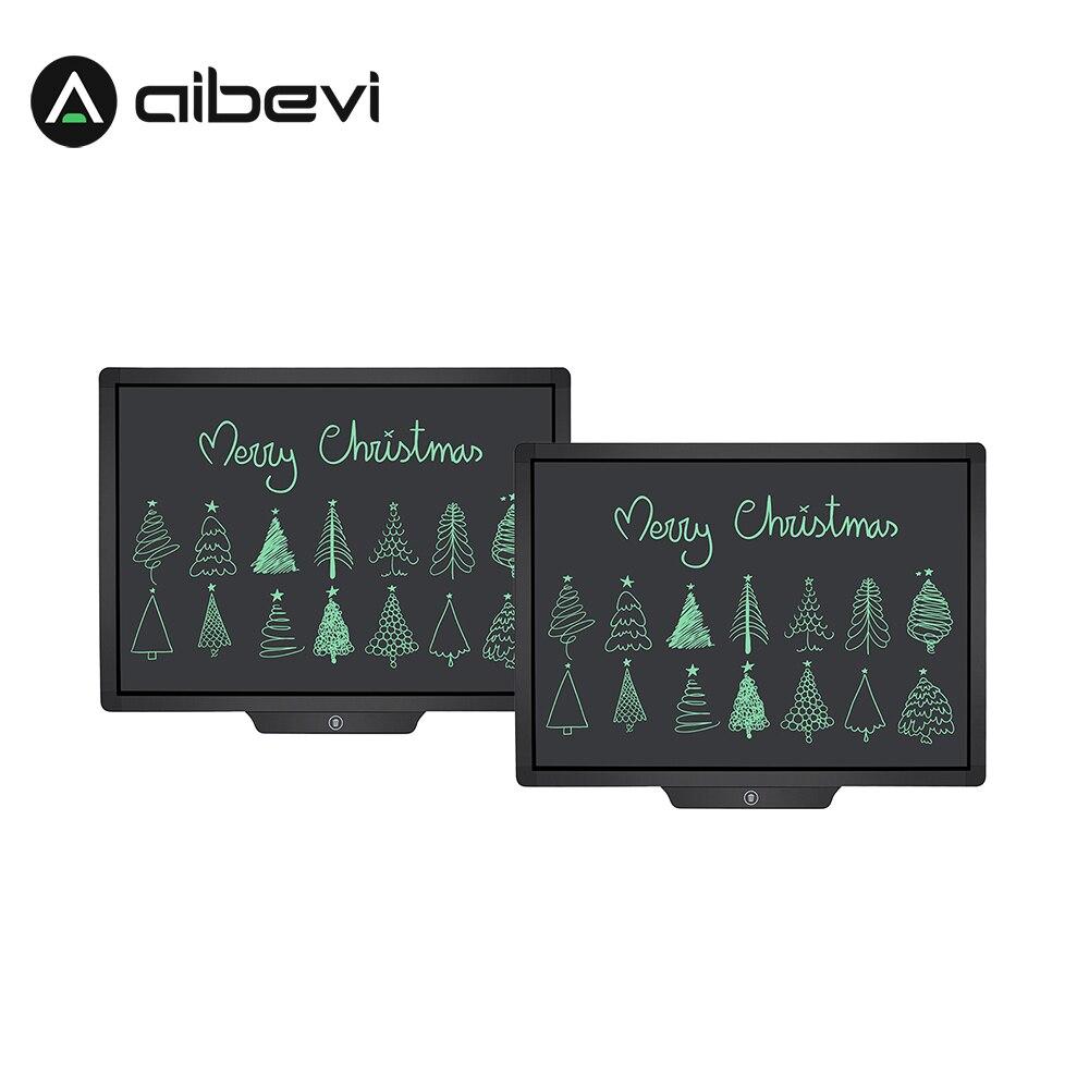 Aibevi Lcd Schreiben Tablet 20'' Zoll Elektronische Zeichnung Schreibtafel Handschrift Pads ultra-dünne Board mit stift Löschen Taste