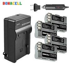 BONACELL 2600mAh EN-EL3e EN EL3e EL3a ENEL3e Camera Battery + Charger for Nikon D300S D300 D100 D200 D700 D70S D80 D90 D50 dual 45 degree split image focus focusing screen for nikon d80 d90 d200 d300 d300s d7000 d7100 d7200 pr126