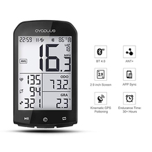 цена на CYCPLUS ANT+ GPS Bike Speedometer Computer Bicycle Bluetooth Wireless Stopwatch Odometer Cycling 2.9 LCD Display With APP