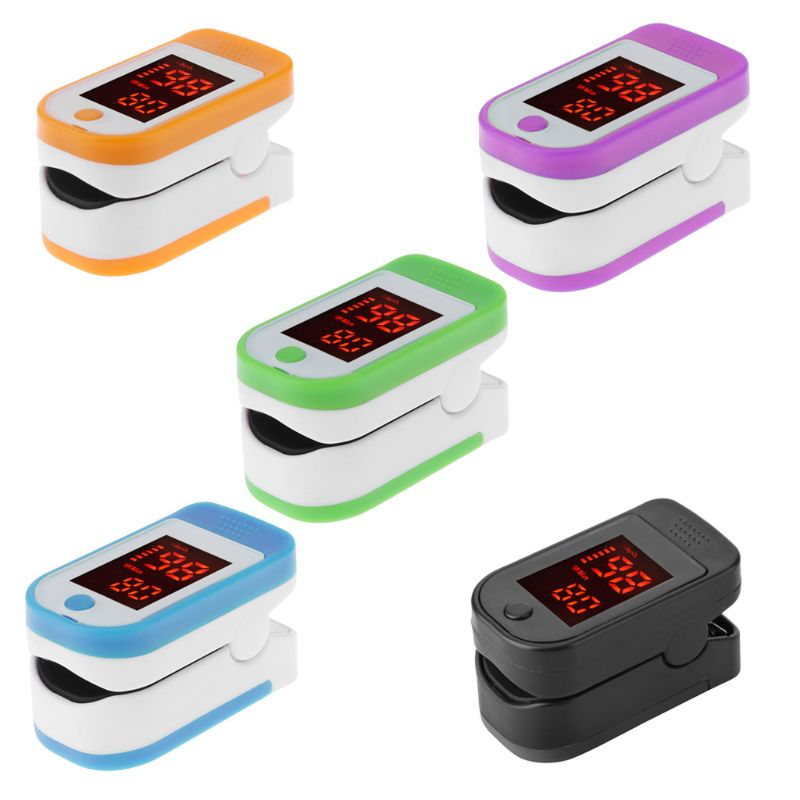 Pulse Oximeter Monitor Finger Pulse Oxymeter Digital Oxygen Meter Clip Type Spo2 Pr Sensor Oled Display Pulse Oximeters