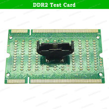 Laptop DDR2 DDR3 DDR4 / Desktop PC Motherboard DDR4 / Two in One DDR2 DDR3 RAM Memory Slot /LED Diagnostic Analyzer Tester Card(China)