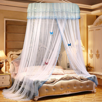 Canopy mosquito net bed curtain netting mosquito net for sleeping elegant dome mosquito net hung dome mosquito net curtain tent baby crib net bed curtain canopy children room decor kids tent cotton hung dome mosquito net for baby sleeping photography props
